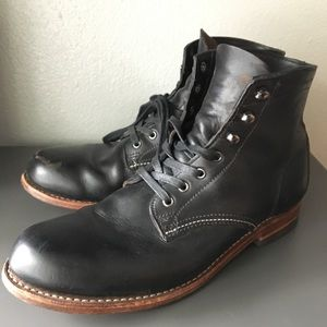 Wolverine 1000 Mile Boot Men's Black 9.5 GUC